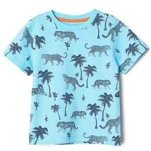 Tiger & Cheetah Shirt (2-4Y)